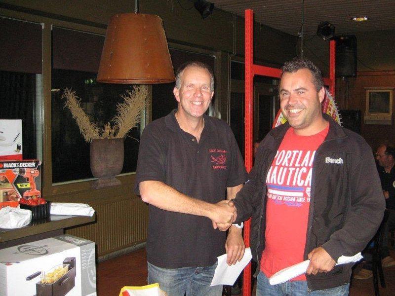 Winnaar Eric Maes